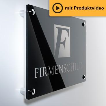 Firmenschilder