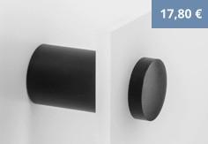 4 Abstandhalter schwarz 20 mm